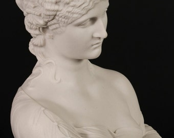 Clytie Classical Bust Marble Sculpture