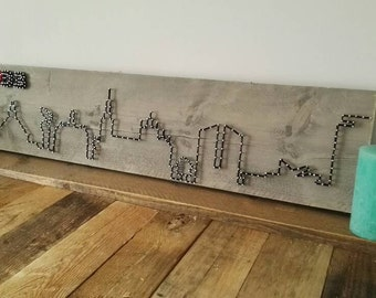 Den Bosch Skyline String Art