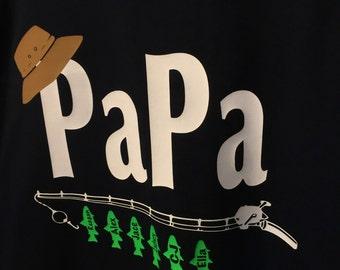 Grandpa T Shirt, Fishing T Shirt