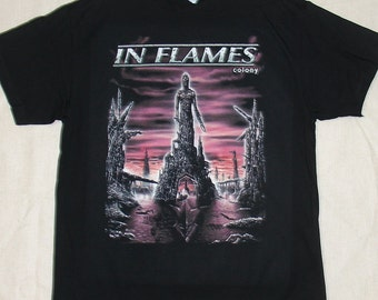 In Flames, Colony, T-shirt 100% Cotton