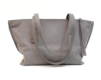 Leather Bag Shopper