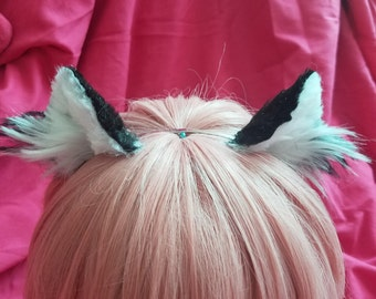 3D Black Cat Ears