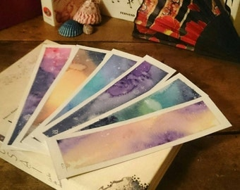 Little galaxy bookmarks!
