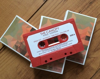 THE CANOPY // CASSETTE with mp3 download code