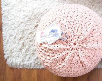 Knitted pouf / ottoman DBLRICE 44 colors
