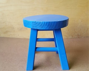 Little Blue kids Stool