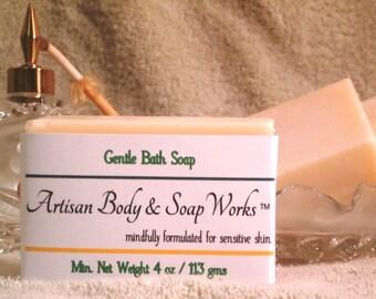 Gentle Bath Soap, 2 Pack