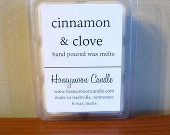 Cinnamon & Clove Soy Wax Melts