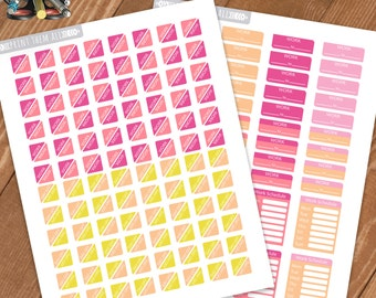 Work Schedule Planner Stickers Printable,Work/Day Off Stickers, for ERIN CONDREN LIFEPLANNER™,Printable Sampler, Instant download