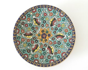 Functional decorative plate
