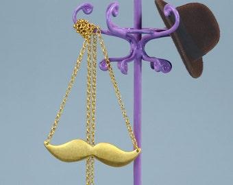 Tasha Moustache Necklace