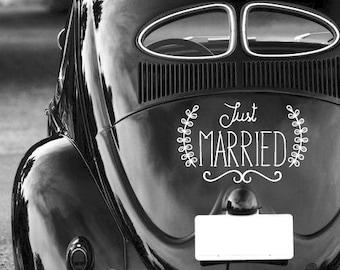 Customizable wedding sticker