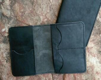 Handmade Leather Passport Folder