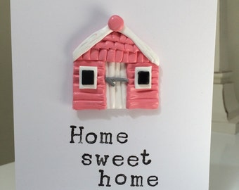 Home sweet home greetings card