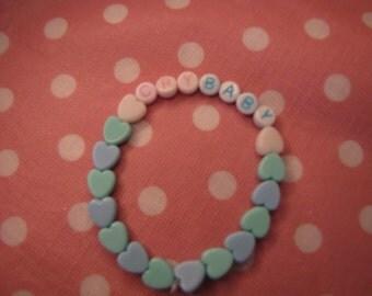 Pastel Cry Baby Bracelet