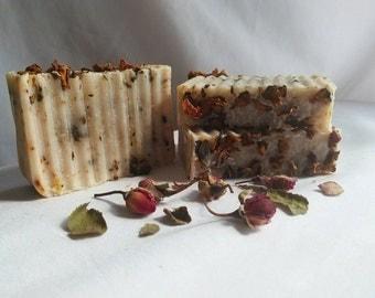 """Handmade Soap """"Halina's Rose"""""""
