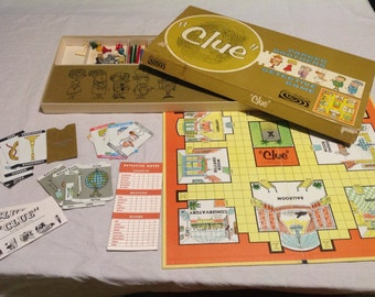 1960s Clue Game