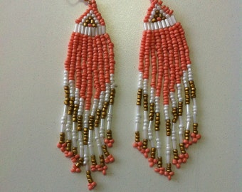 Bohemian beaded earrings