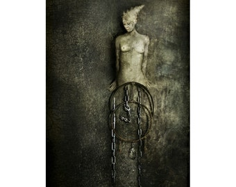 """PRINT of Carnal Imagery's fine art work """"Depth of Dreaming"""""""