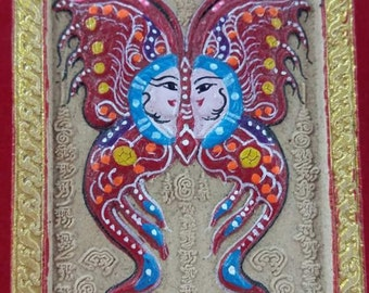 Knubar krishna Butterfly for love and lycky.