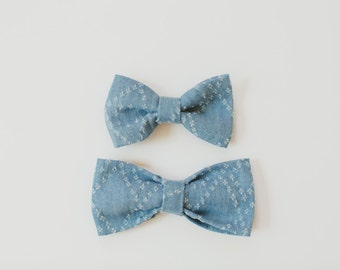 Father Son Bow Ties, Bow Tie Set, Little Boy Bow Tie, Mens Bow Tie, Clip on Bow Tie, Wedding BowTie, Ring Bearer Bowtie, Wedding Accessories