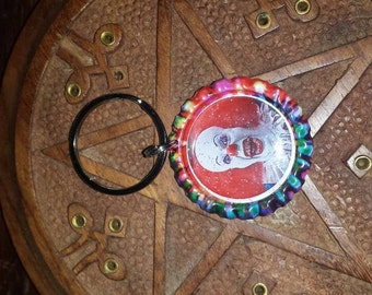 Pennywise Keychain or Custom made bottlecap Keychain
