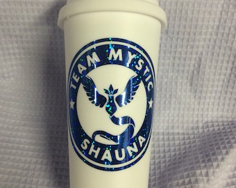 Pokemon Go Team Personalized Travel Cup