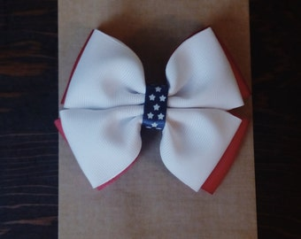 4 of July, Hair Bow Set, Baby Girl Accessories, Hair Bow, Baby Clip, Baby Girl, Baby Hair Bow