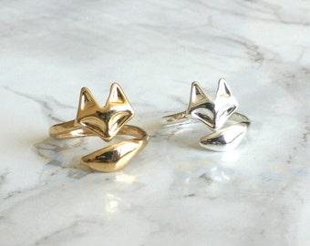 Adjustable Fox Ring