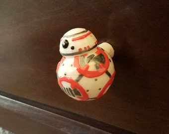 BB8 Star Wars Knob for Dressers, Drawers & Closets, Cabinets