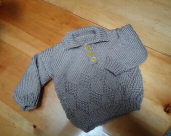 Boys diamond sweater