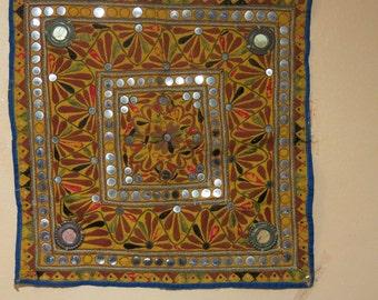 Antique Wall Hanging - Banjara DESERT Gypsy,s - RARE 60X60