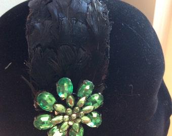 Feathers & Vintage - #26 Hairband