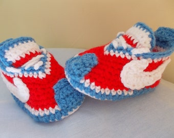CROCHET PATTERN, Baby pattern, Baby Shoes pattern, Crochet Baby Booties, Sneakers baby pattern, baby nike, Nike Shoes, Crochet Tennis Shoes