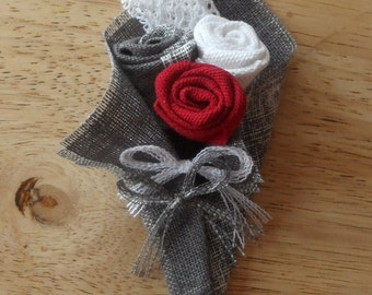Buttonhole in fabric
