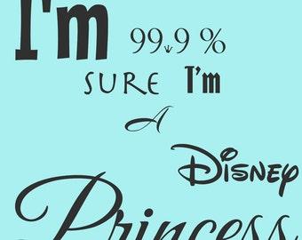 Printable Wall Art- Disney Princess