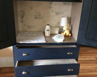 Gorgeous Children's Armoire Dresser