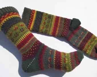 Fair Isle socks Bada Gr. 38 / 39