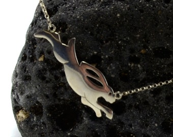 Tortoise and Hare Pendant