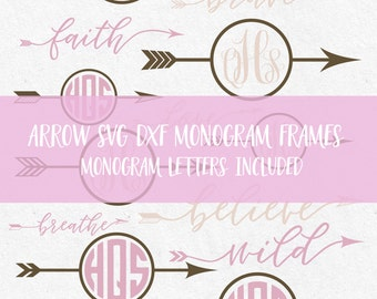 Arrow Circles Svg Monogram Svg Frames Svg arrow svg file svg design files for silhouette svg files for cricut svg files svg bundle vinyl svg
