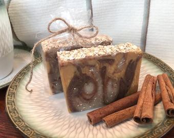 Oatmeal, Honey & Cinnamon Soap