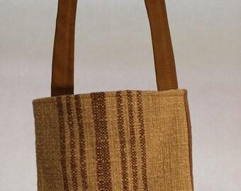 Small striped bag Item #B46