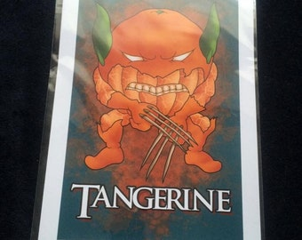 Tangerine A4 Limited Print