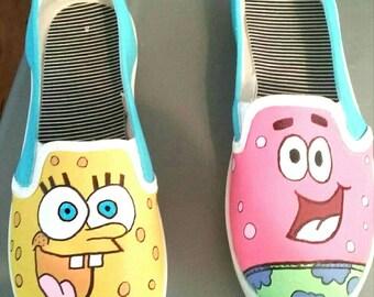 Spongebob and Patrick Shoes