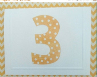 ON SALE Child's 3rd Birthday Card & Envelope - Fun - Colourful