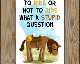 Horse Riding | Equine Metal Sign | Horse Sign | Horse Lover Sign | Gift for horse lover