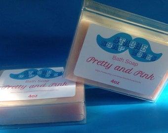 Pretty and Pink 4oz Bath Soap