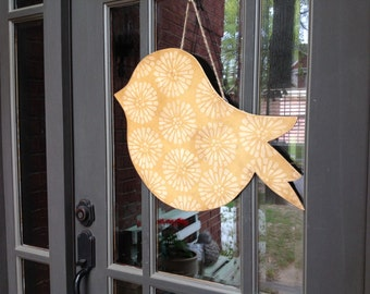 Nesting Bird Door hanger