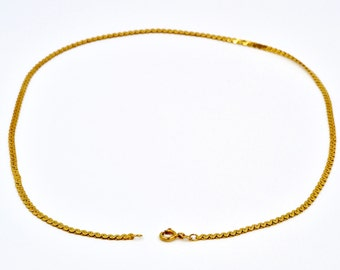 14K Gold Chain Necklace, 18 3/4''