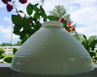 Corning Milk Glass Lamp Diffuser Shade